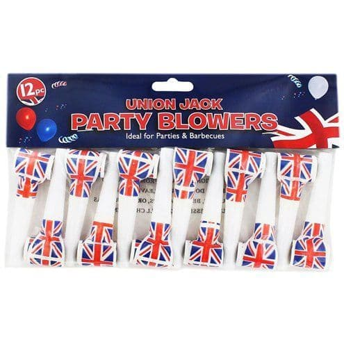 Accessory: Union Jack Blowouts pk12