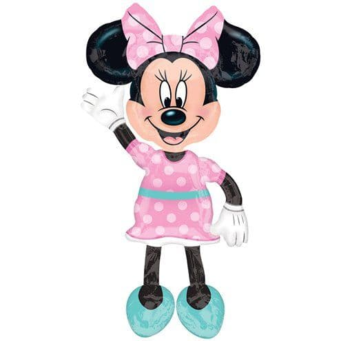 Air Walkers: 54'' Giant Minnie Mouse Airwalker (each) Inflated