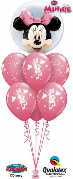 Any Double Deco Bubble with internal balloon & 6 latex