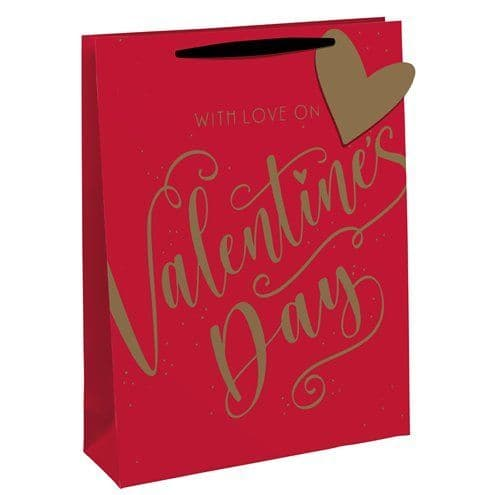 Bags: Large Valentines Day Bag - each