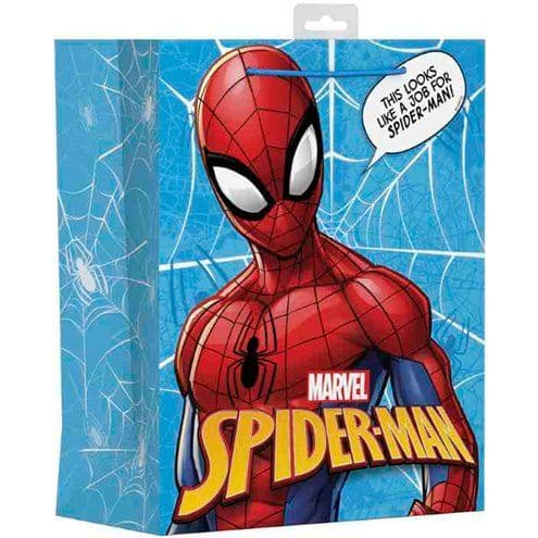 Bags: Spider-Man Large Gift Bag - Each