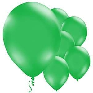 Balloon:  11'' Green Latex Balloons (10pk)