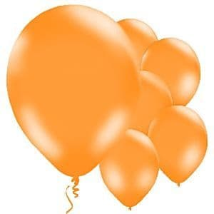 Balloon: 11'' Orange Latex Balloons (10pk)