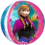 Balloon: 25'' Orbz™ Disney Frozen Orbz Balloon - each Sold deflated