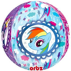 Balloon: 25'' Orbz™ My Little Pony Balloon (each) Sold deflated
