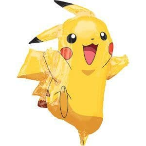 Balloon: 31'' Pokemon Pikachu Super Shape Foil Balloon