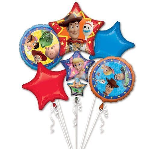 Balloon Bouquet: Toy Story 4 Foil Balloon Bouquet - Sold deflated