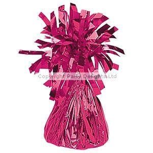Balloon: Hot Pink Foil Balloon Weight - 170g (each)