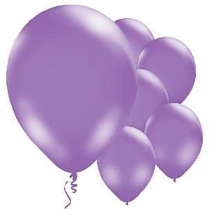 Balloons:  11'' Purple Latex Balloons (10pk)