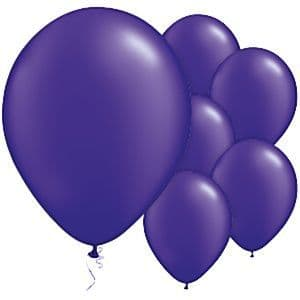 Balloons:  11'' Purple Quartz Latex Balloons (25pk)
