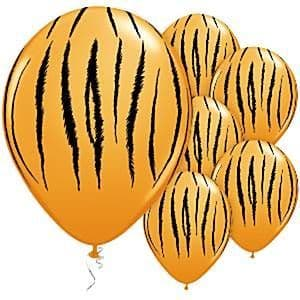 Balloons: 11'' Tiger Stripes Latex Balloons  (25pk)