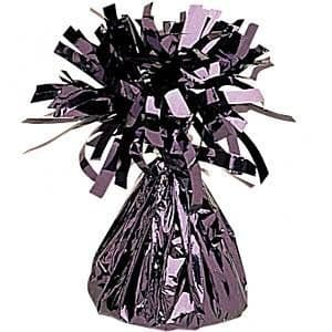 Balloons:  Black Foil Balloon Weight (each)