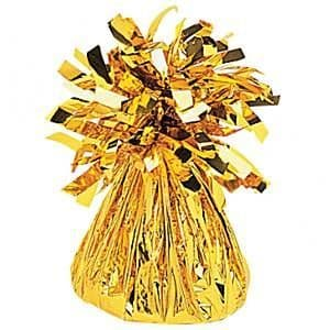 Balloons: Gold Foil Balloon Weight (each)