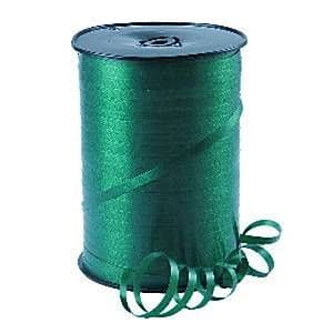 Balloons: Hunter Green Curling Balloon Ribbon - 500m (each)