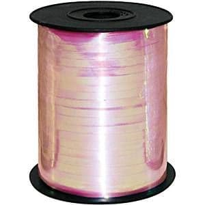 Balloons: Iridescent Pink Curling Balloon Ribbon - 230m