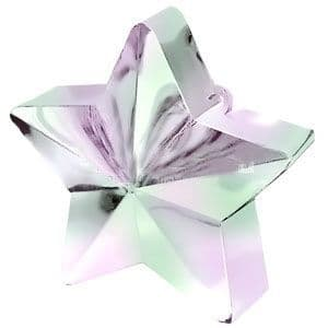 Balloons: Iridescent Star 168g Balloon Weight (each)