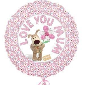 Balloons: Love You Mum Standard Foil  Sold deflated
