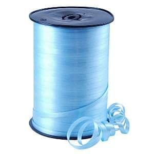 Balloons: Pale Blue Curling Balloon Ribbon - 500m (each)