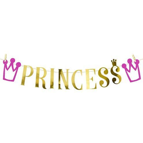 Banner: Princess Party Banner - 90cm