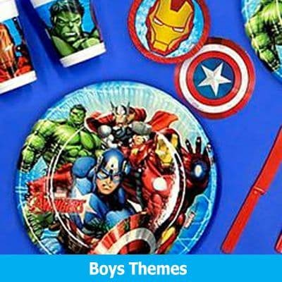 Boys Party Themes Aged 4+