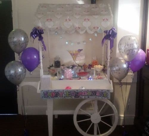Bronze Cart Hire -  A choice of candy which will easily serve 50-70 people