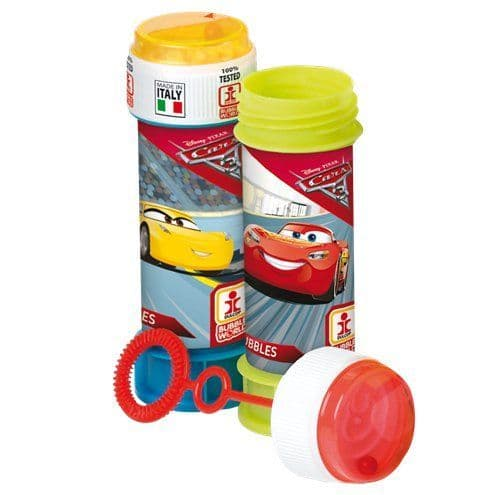 Bubbles: Cars 3 Party Bubbles - 60ml x8pk