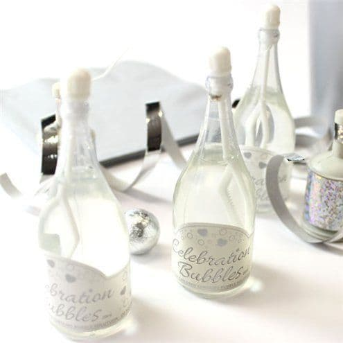Bubbles: White Champagne Wedding Bubbles (24pk)