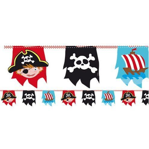Bunting: Captain Pirate Bunting - 4m