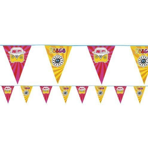 Bunting: Hippie Flag Bunting - 6m