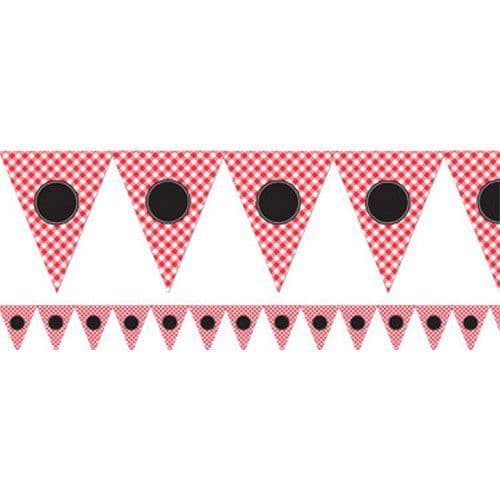 Bunting: Picnic Party Personalisable Bunting - 7.9m (each)