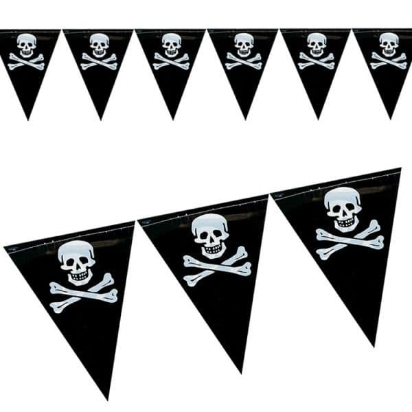 Bunting: Pirate Triangle Shaped Bunting.