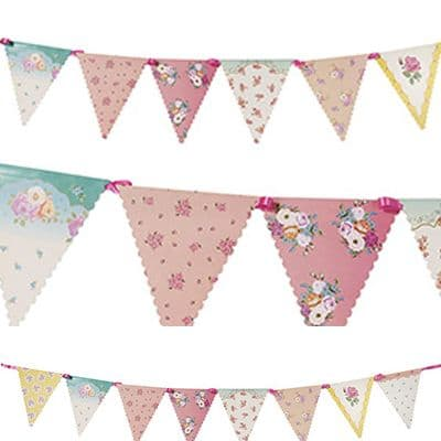 Bunting: Truly Scrumptious Party Paper Bunting - 3m