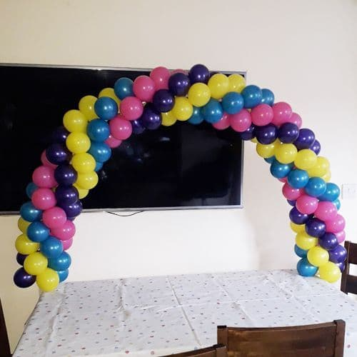 Cake Balloon Arch Single - ideal for cake table