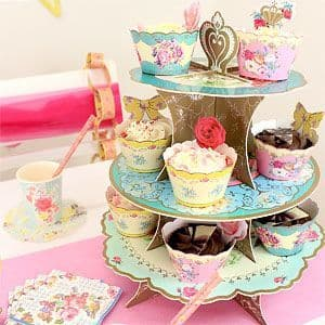 Cake Stand: Truly Scrumptious Party 3 tier Cupcake Stand (each)