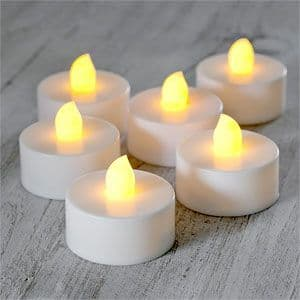 Candles: LED Tealight Candles x6pk