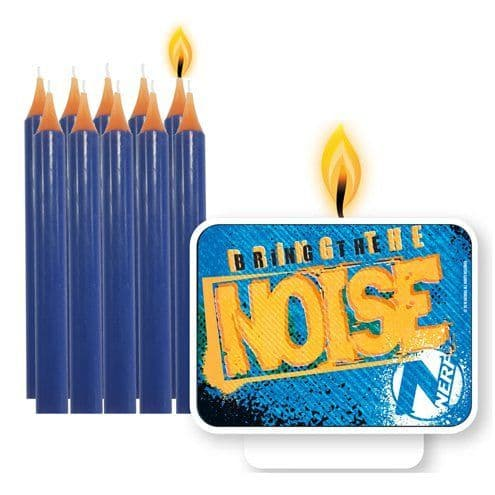Candles: Nerf Party Cake Candles 11pk