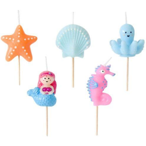 Candles: Under the Sea Candlesx5pk