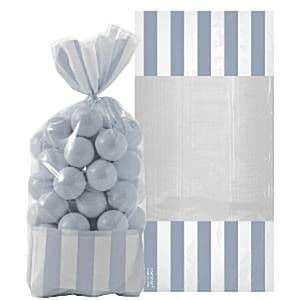 Candy Buffet: Cellophane Sweet Bags - Silver (10pk)