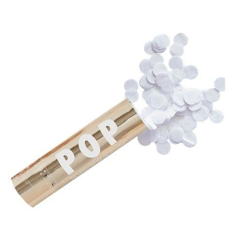 Cannon: Gold Wedding Biodegradable Confetti Cannon - 15cm