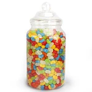 Catering: Victorian Sweet Jar - Plastic - 3.25L (each)