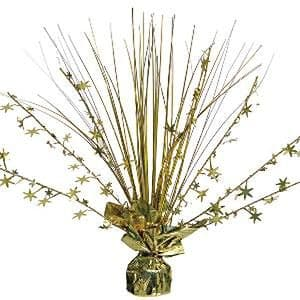 Centrepiece: Gold Foil Spray Table Centrepiece - 30cm