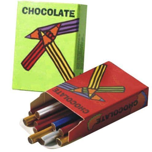 Chocolate: 20g Chocolate Crayons Pack