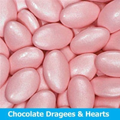Chocolate Dragees & Small Hearts