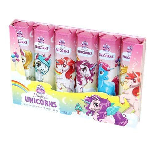 Chocolate: Unicorn Mini Bars x6pk