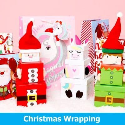 Christmas Gift Wrap & Stockings