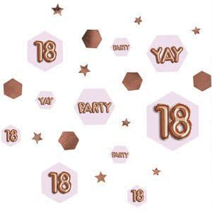 Confetti: 18th Glitz & Glamour Birthday Confetti - 34g Bag