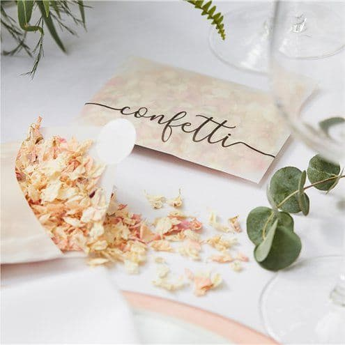 Confetti: Botanical Wedding Biodegradable Dried Petal Confetti
