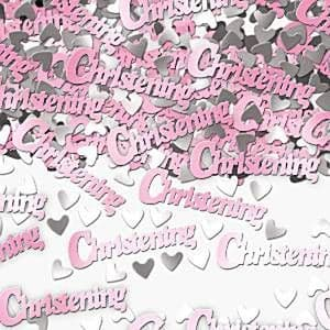 Confetti: Christening Table/Invite Confetti - Pink (14g bag)
