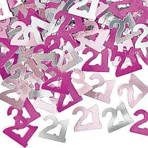Confetti: Dazzling Effects 21st Table/Invite Confetti - PINK
