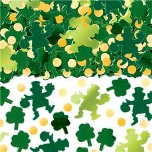 Confetti: Green Big Pack Of Shamrocks Table/Invite Confetti 71g